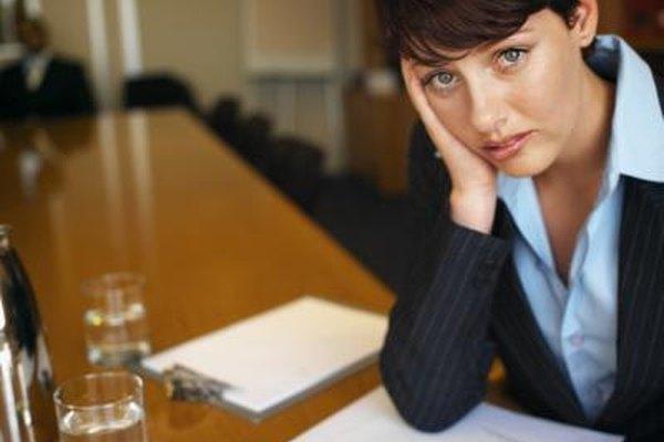 Un empleado distraído es prueba de que puede estar experimentando problemas.