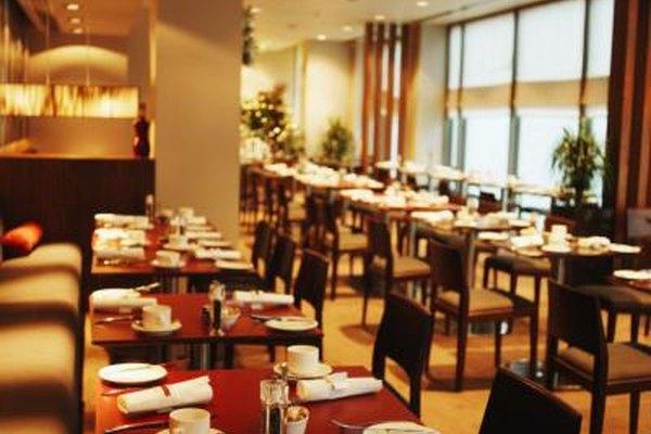 Los restaurantes dependen de una serie de contratos para operar de manera eficiente.