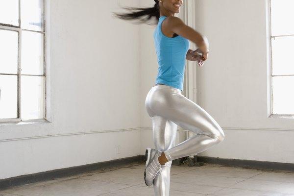 La técnica del punto fijo te ayudará a bailar dando vueltas cómodamente.