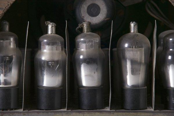 Es más fácil lograr un overdrive natural de un amplificador a tubos.
