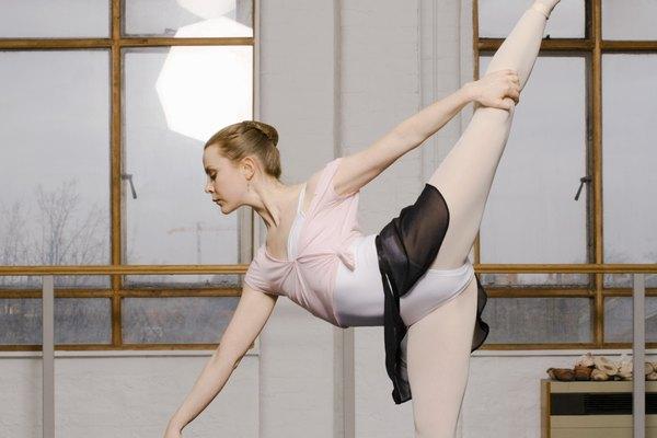 El estiramiento es un elemento crucial en el arte del ballet.
