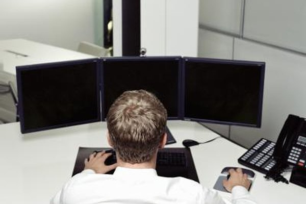 Multiple monitors can reduce your window management time.