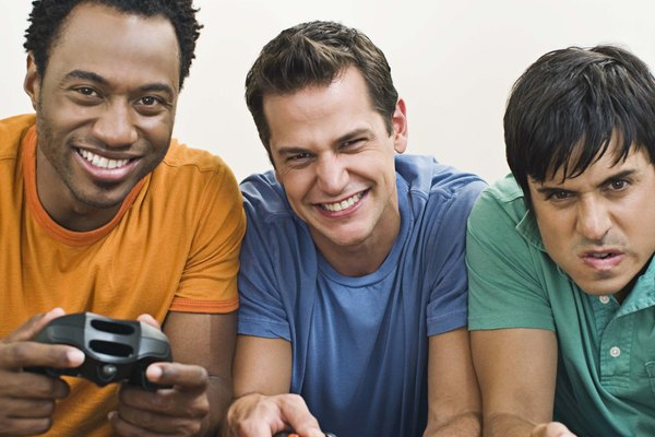 Xbox is great to play with friends, either in person or online.