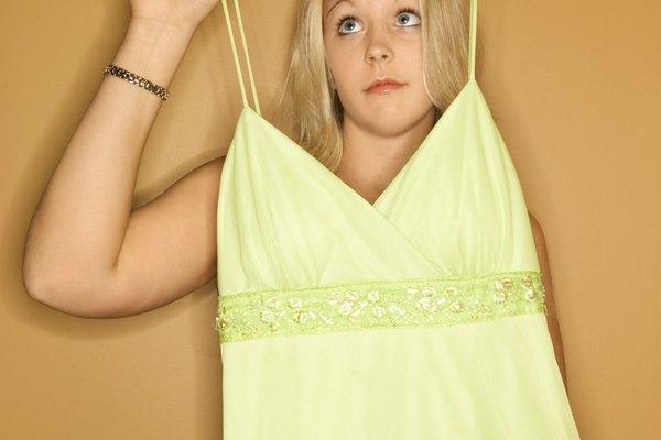Casi cualquier vestido puede ser modificado de acuerdo a tus gustos.
