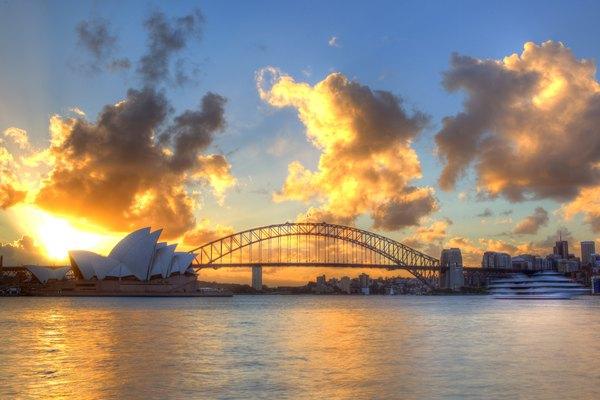 Casa de la Ópera en Sydney.