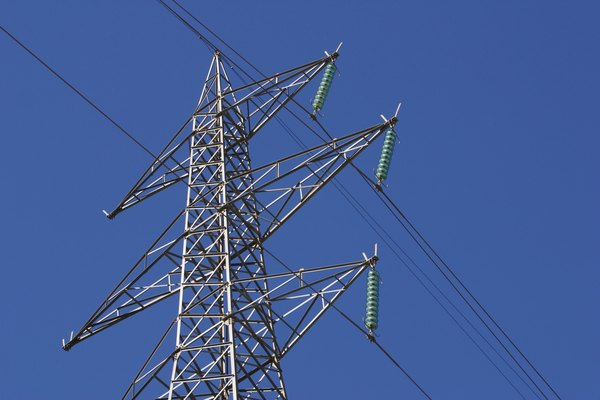 Low angle view of powerlines