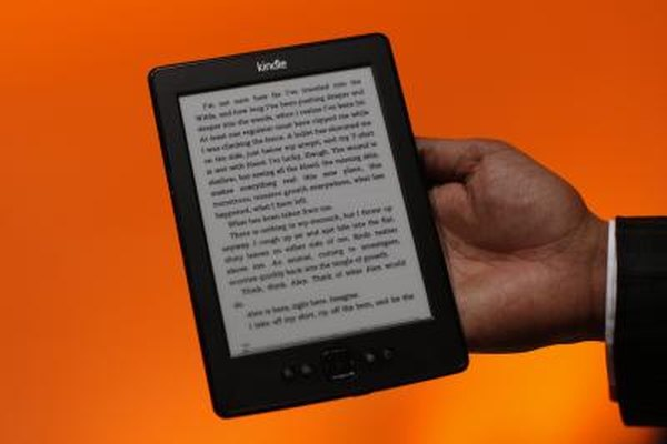 The Kindle's screen rotation feature enables horizontal or vertical viewing.