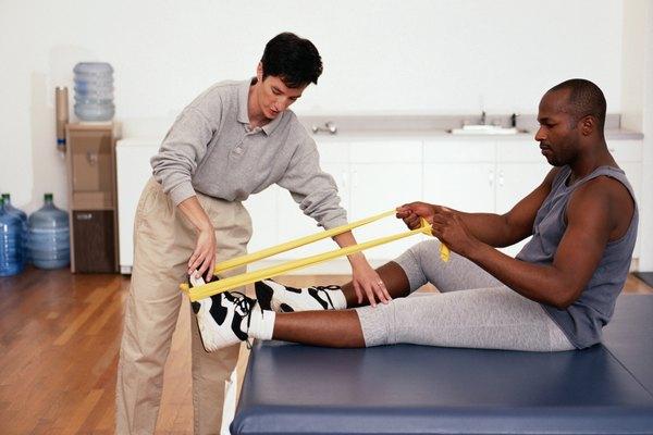 Terapeuta físico.