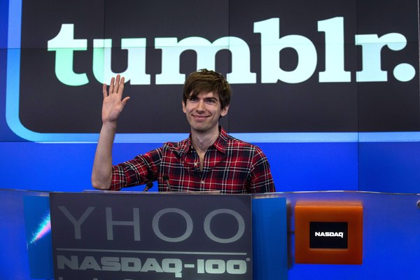 Tumblr founder David Karp sold the service to Yahoo in 2013.
