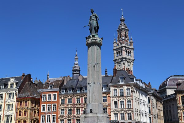 Column of the Goddess in Lille, France