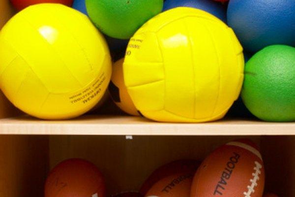 Todo tipo de balones requieren ser inflados regularmente.