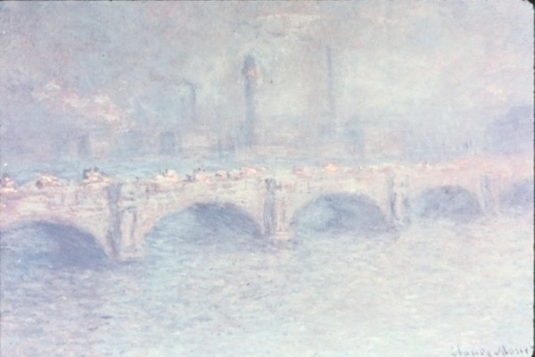 Las pinturas impresionistas son un ejemplo del realismo psicológico en el arte.