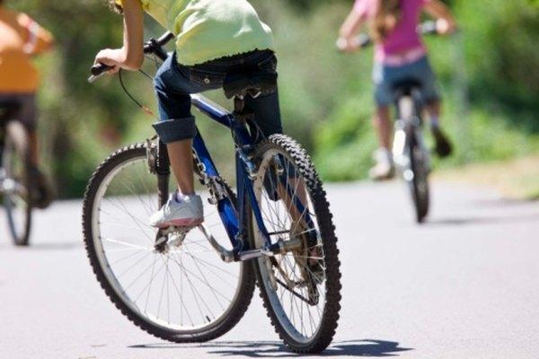 Muchos marcos de bicicleta hoy están construidos usando aleaciones de aluminio.