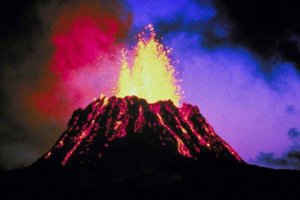 Los volcanes son considerados destructivos y constructivos.