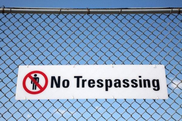Debes obedecer los letreros colocados.