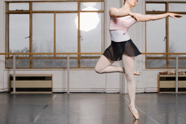 El ballet moderno incorpora música jazz rápida y rítmica.