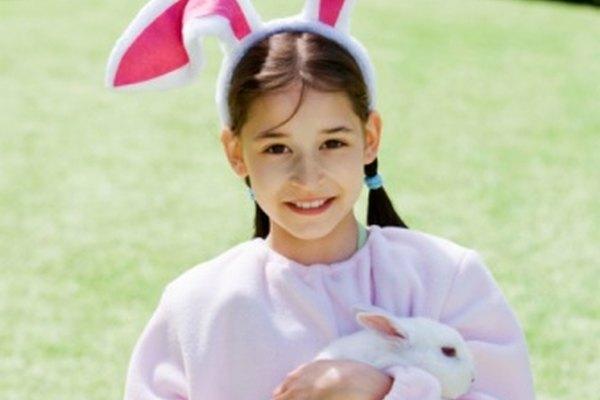 Una correa para el conejo evitará que tu mascota se pierda.