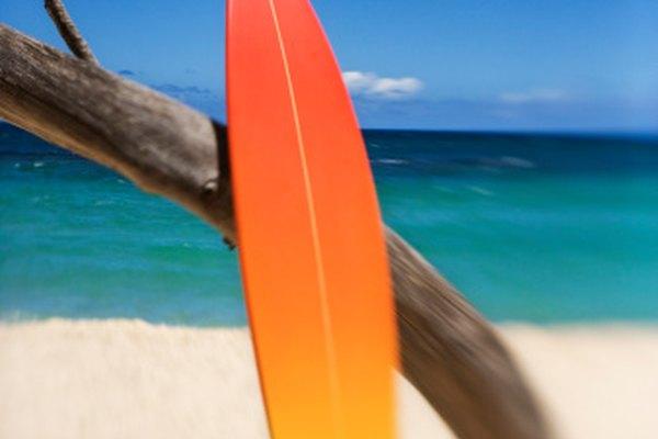 El mismo material utilizado en las tablas de surf también puede pulir tus piezas de resina.