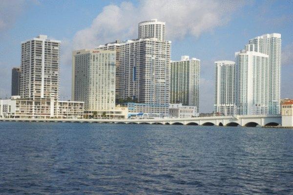 El puerto de Miami está a 5 minutos del centro de la ciudad.