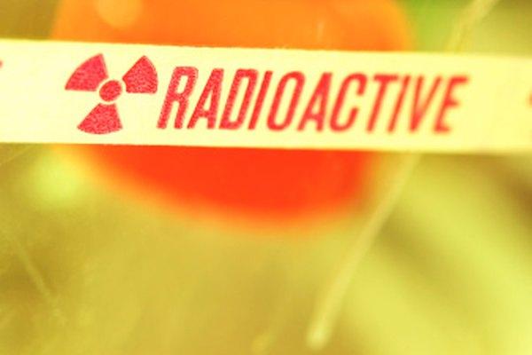 Los marcadores radioactivos requieren cuidado en su manejo.