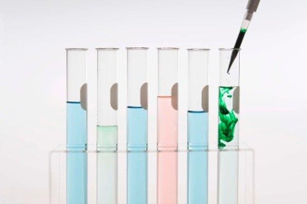 La pipeta se usa para controlar cuidadosamente el volumen de una solución agregada a una reacción.