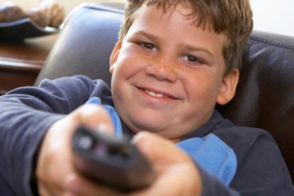 Muchos niños en los Estados Unidos llevan una vida más sedentarias que en años pasados.