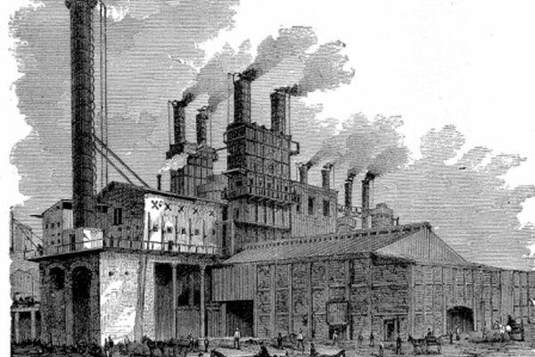 La Revolución Industrial comenzó en Gran Bretaña durante el siglo XVIII.