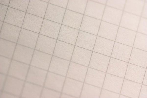 Traza tu segmento de línea en papel cuadriculado.