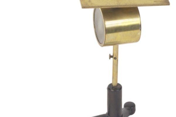 Electroscopio hoja de oro.