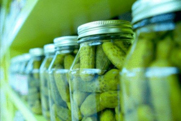 Los elementos almacenados en vidrio o plástico sellado estarán a salvo de la infestación.