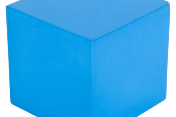 Un cubo es una figura geométrica tridimensional.