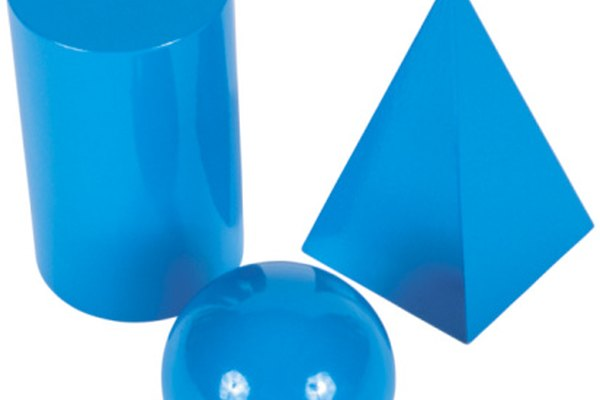 Las diferentes formas tienen diferente cantidad de aristas y vértices.