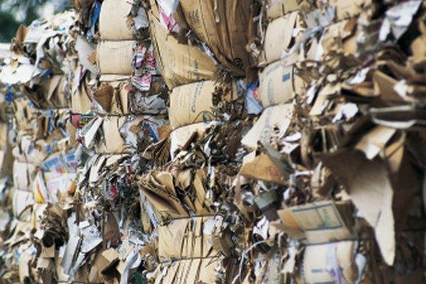 El papel es biodegradable y reciclable.