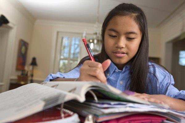 Los libros de texto son importantes, incluso en edades jóvenes.