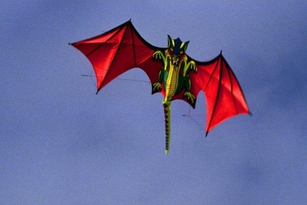 Esta forma es una versión moderna de la cometa plana de dragón.