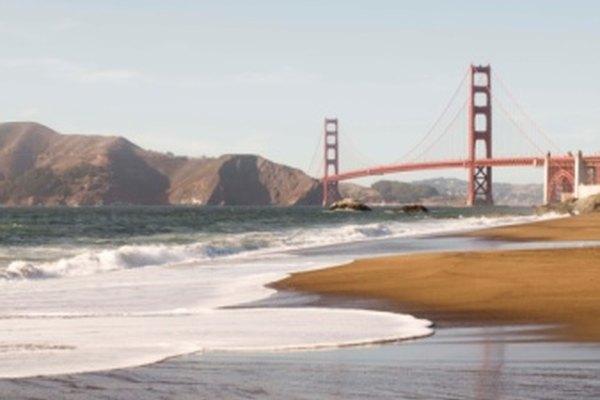 San Francisco es una de las principales ciudades costeras de California.