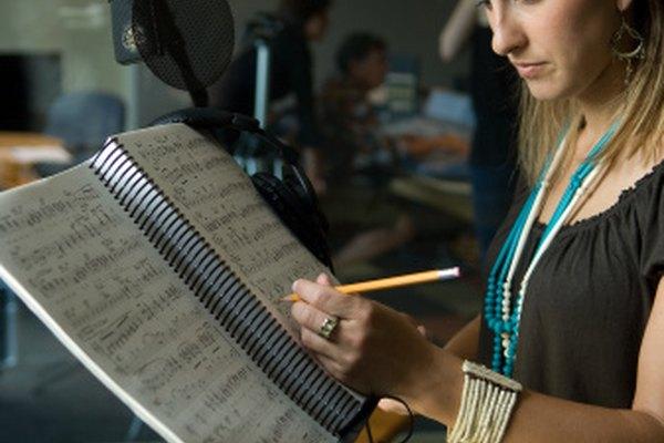 La habilidad de transcribir música hace posible anotar con exactitud un sonido.