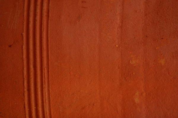 Muchas combinaciones de pinturas pueden crear el color terracota.