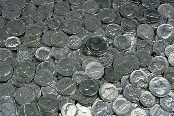 Todas las monedas de los Estados Unidos contienen casi los mismo componentes metálicos.