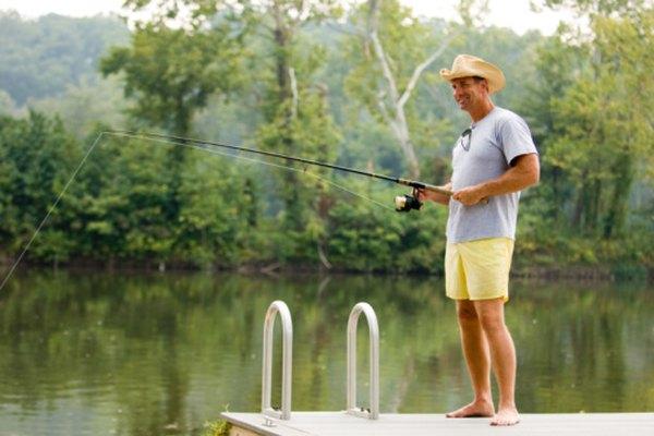 Las varillas de fibra de vidrio o fibra de carbono son ideales en situaciones de pesca diferentes.
