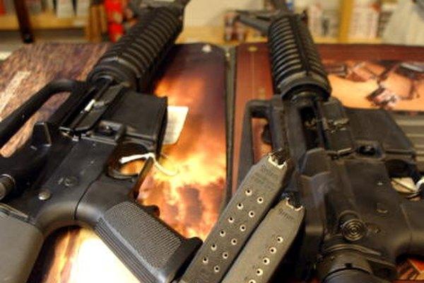 Las AR-15 no están destinadas a la munición diseñada para M16.