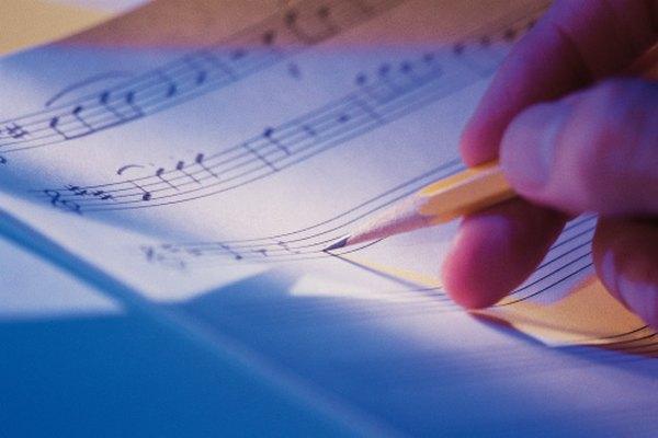 Memorizar los nombres de las notas permite escribir música.