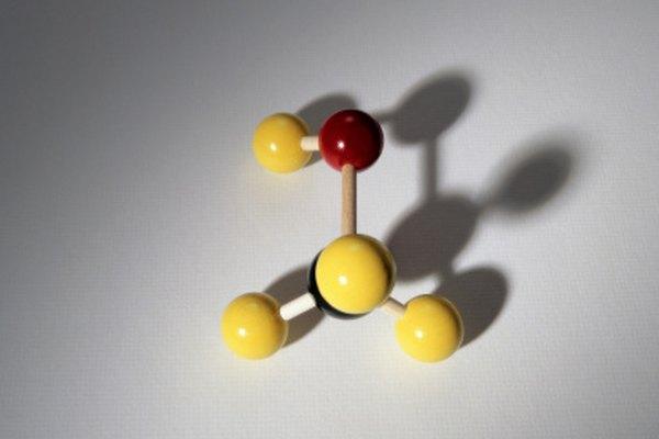 El metanol es la molécula de alcohol más simple.