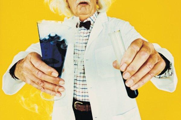 Disfraz de científico loco.