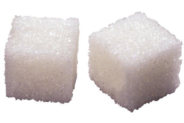 ¿Cuántos cubos de azúcar puedes disolver en un vaso de agua?