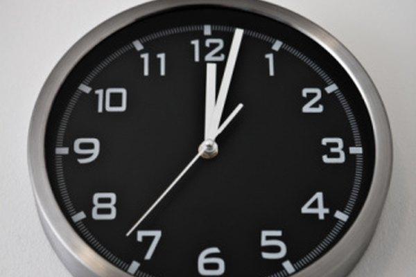 Si estás acostumbrado al tiempo estándar, las conversiones de tiempo decimal requieren práctica.