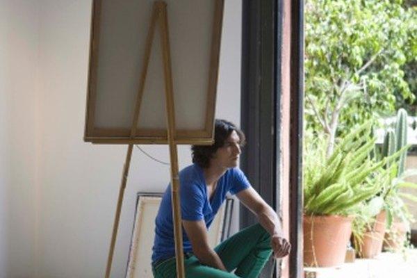 Algunos artistas prefieren usar pinturas al óleo sobre masonita en lugar de sobre lienzo.