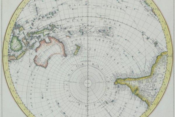 Australia y Antártida están ubicados por completo en el hemisferio sur.