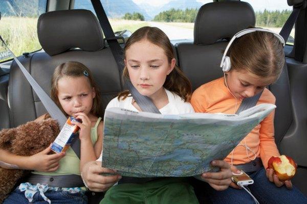 Los mapas de carreteras pueden ser una útil herramienta educativa para los niños.