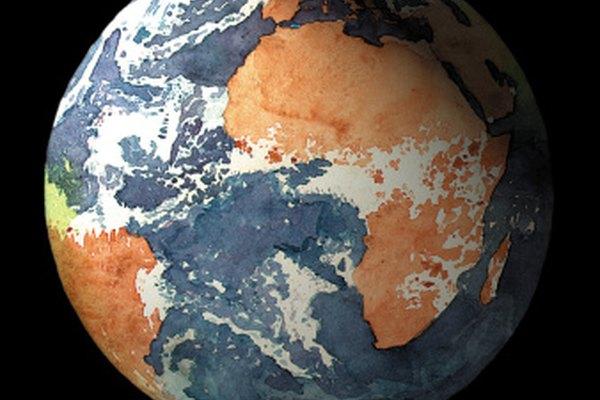El agua cubre aproximadamente el 70 por ciento de la superficie terrestre.